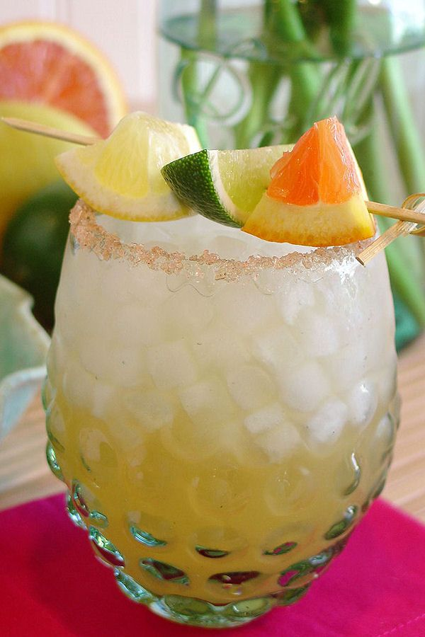 Coconut Ginger Lime Magarita by WickedGoodKitchen.com ~ Perfect for #NationalMargaritaDay