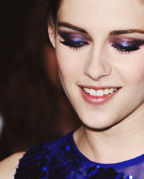 Kristen Stewart. Beautiful eye makeup.
