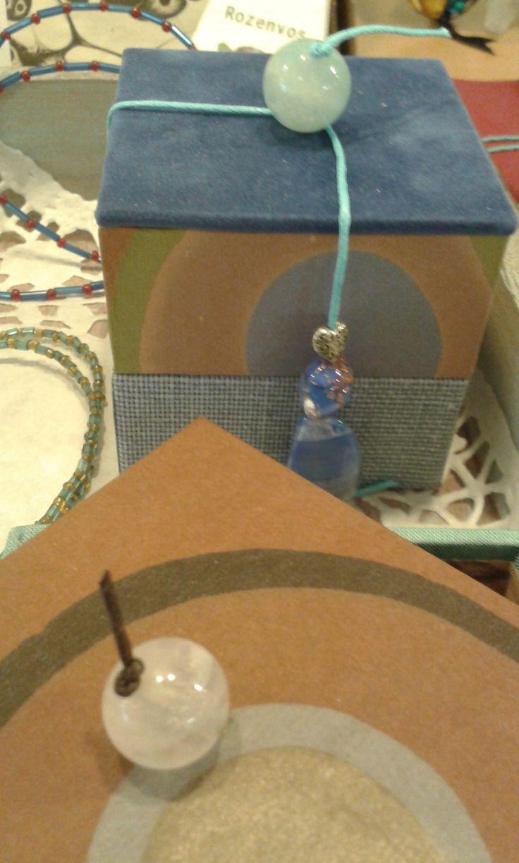 sieraden-reis-doosje(s) met handmarmer van Rosanna Corro