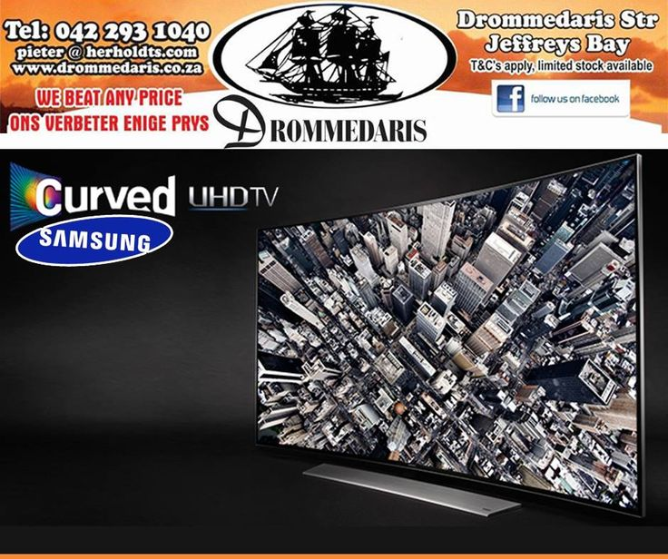 """If you love #technology, you will absolutely love the #Samsung 78"""" Curved UHD LED 3D Smart Television available at #Drommedaris."""