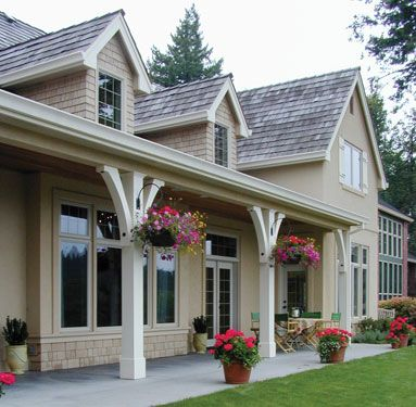 """~ """"Casual and inviting covered porch"""""""
