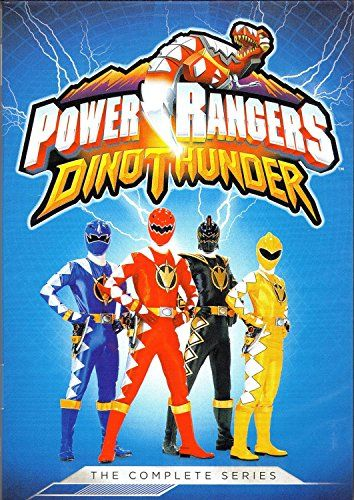 Power Rangers Dino Thunder: The Complete Series. Call # J DVD POW-12