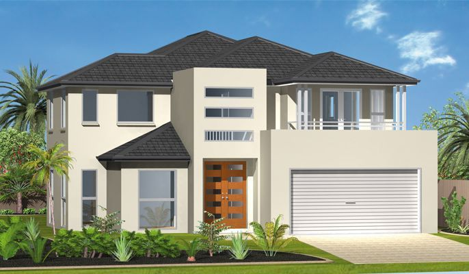 Portofino: 4 bed, 3 bath, 2724 sqft.  Open indoor and outdoor entertaining areas cater for the perfect host while separate secluded upper level living spaces offer quieter areas for relaxing. Bask in the warm summer evenings on your very own balcony that this magnificent home offers.