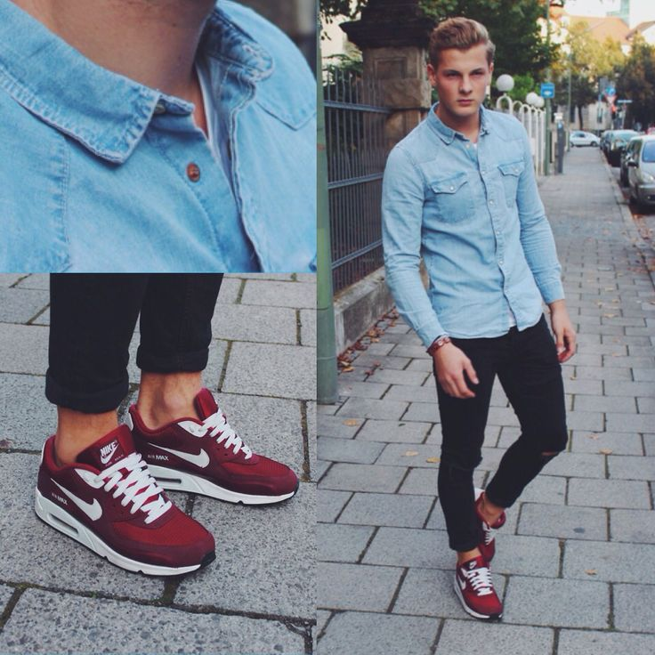 air max 90 with jeans