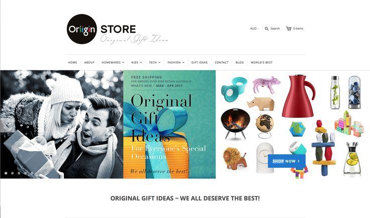OriiginStore – ORIGINAL GIFT IDEAS – WE ALL DESERVE THE BEST!