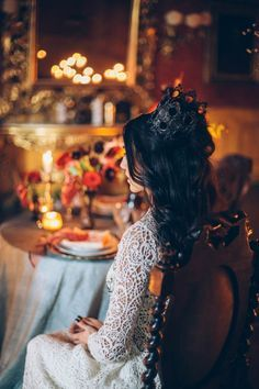 Italian Gothic Wedding Inspiration at Villa Di Maiano
