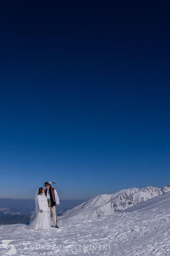 Wedding session in the Tatra Mountains. / Plener ślubny w Tatrach.
