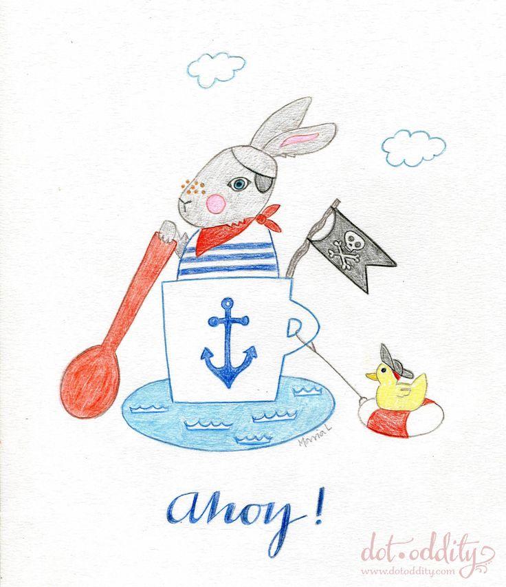 Bunny Ahoy! by Maria Larsson