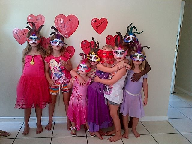 Masked Pamper Party