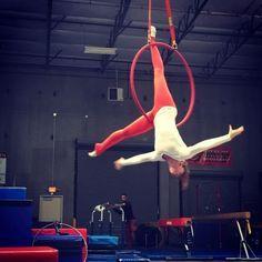 """Doing what you love is freedom, loving what you do is happiness."" #freedom #happiness #doingwhatilove #lyra #cerceau #aerialhoop#circus #cirque #circo #aerial #aerialarts #aerialfitness #getaerialfit #girlintheair#usaerial #aerialnation #circusinspiration #circusaroundtheworld #aerialistsofig #circusartistcirque #aerialbeauty #circuseverydamnday"