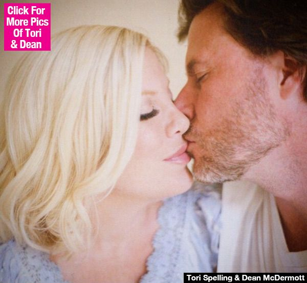 Tori Spelling Finally Forgives Dean McDermott After Cheating — Posts Kissing Pic <3 <3