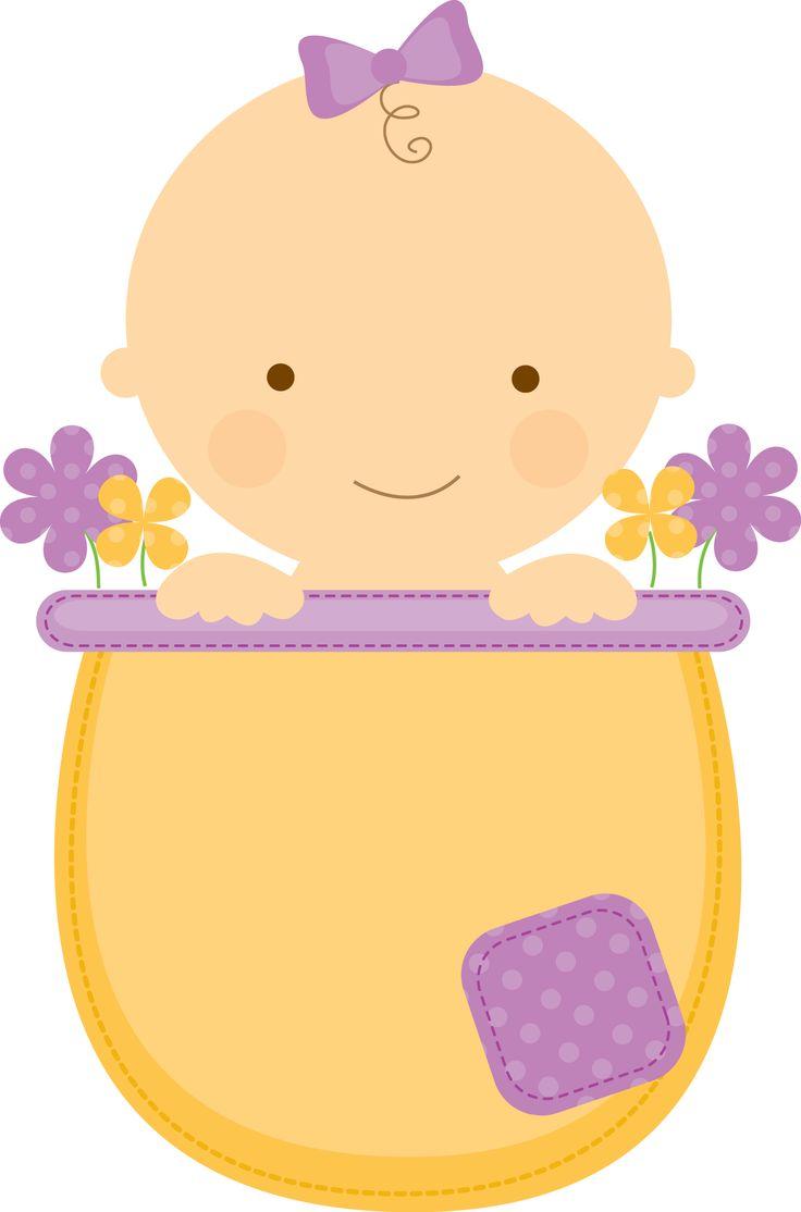 Flowerpot Babies - ClipArt.BABYINFLOWERPOT_Purple.png - Minus