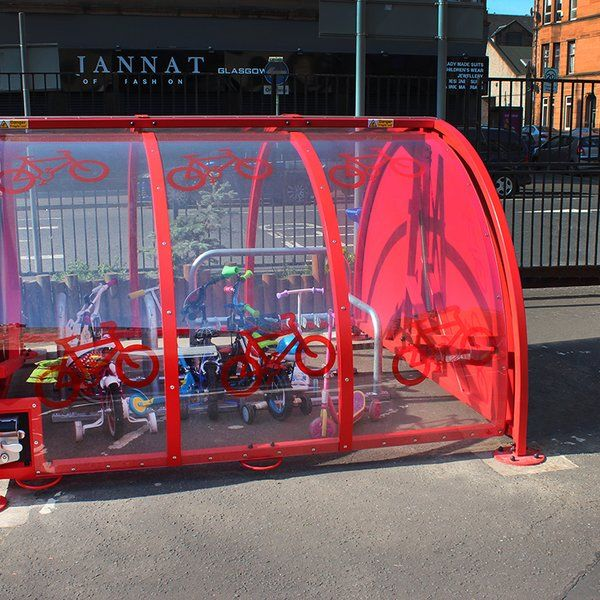 Cycle drum parking pod