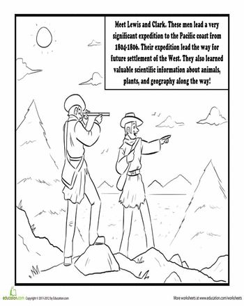 fd754001e582689bfd0852df8785c3be--lewis-and-clark-coloring-sheets Coloring Worksheet Th Grade on reading skills, subtracting decimals, mental math, social studies, english grammar,
