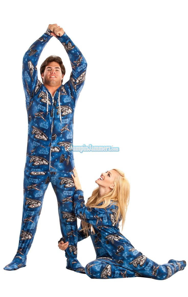 Star Wars Pajamas Footie PJs Onesies One Piece Adult Pajamas