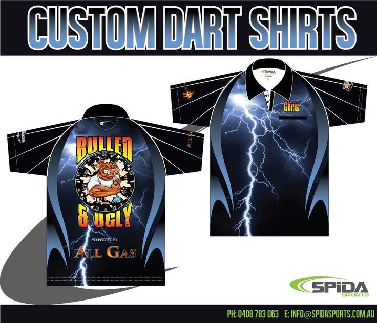 Design Your Own Darts Shirt