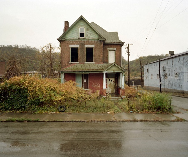 Abandoned House At 200 Talbot Ave., Braddock, Pennsylvania