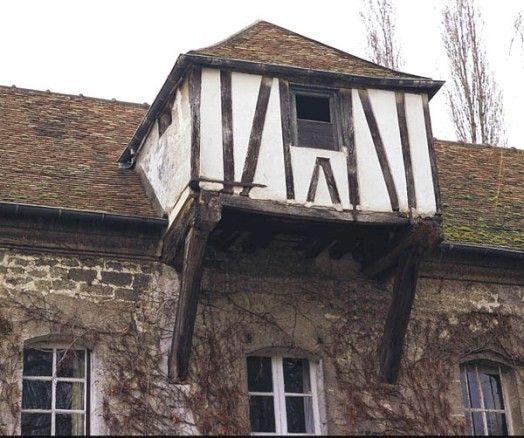 Lucarne, ferme des Tournelles, 7 rue du Pont-à-l'Huile, Le Thillay