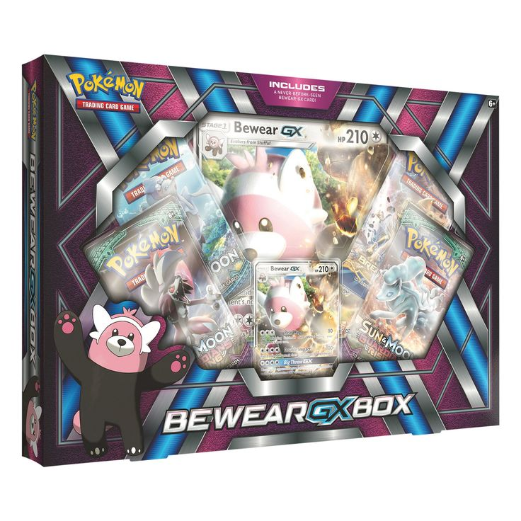 2017 Pokemon Trading Card Bewear GX Box