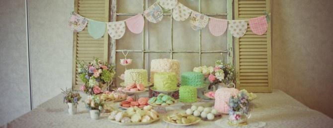 Party di compleanno vintage chic | PiccoliElfi