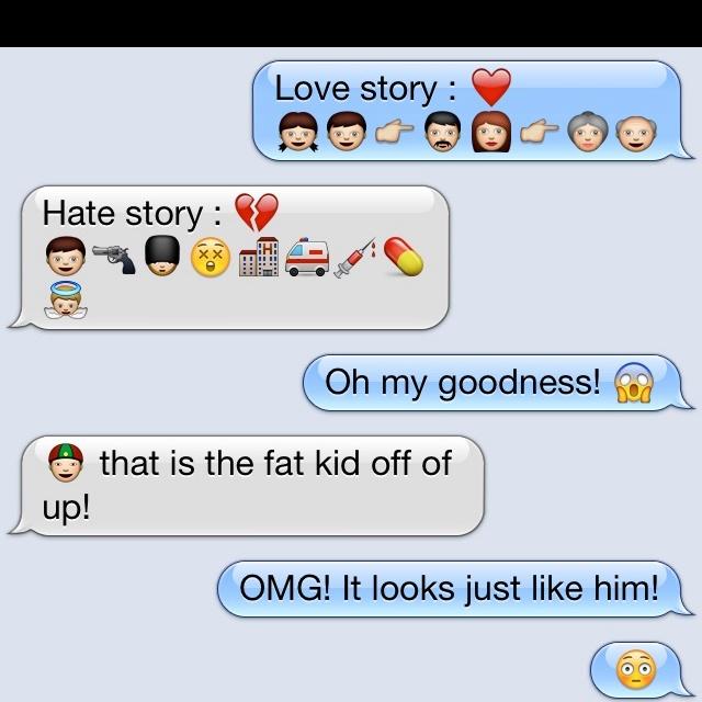 emoji  texting  cousin