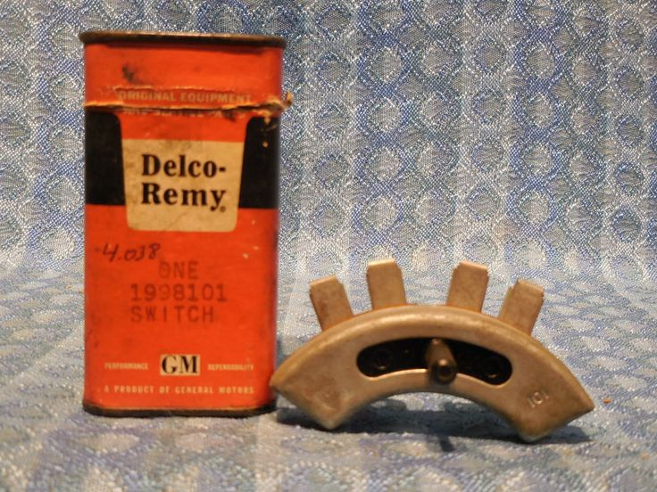 19531956 Buick Dynaflow NOS Delco Neutral Safety Switch