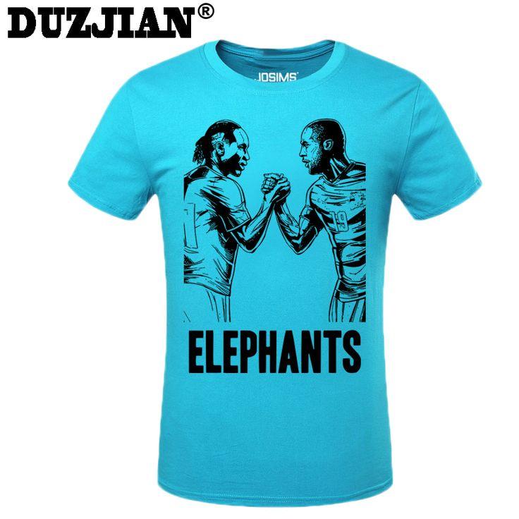 DUZJIAN Summer World Cup Yaya Toure men's T-shirt man t shirt summer 2016 child bodybuilding t-shirt survetement footbal