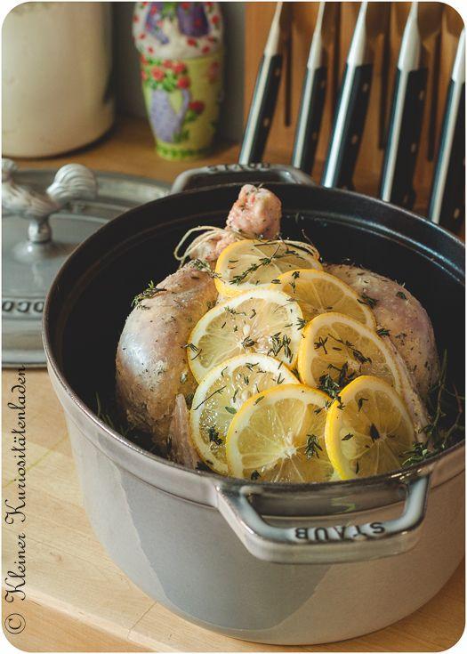 Zitronen-Kräuter-Hähnchen