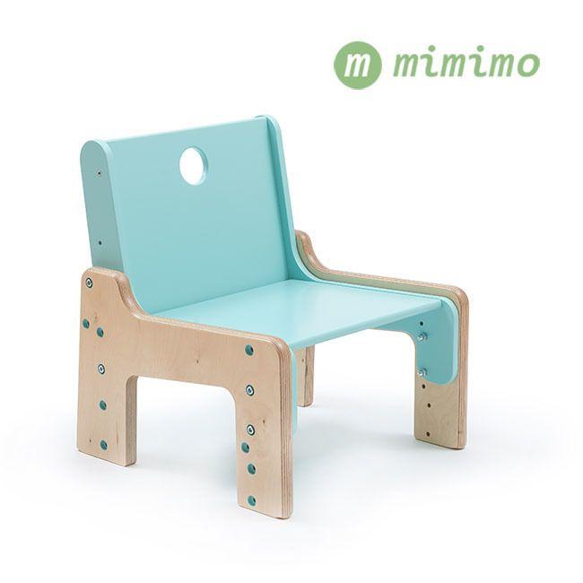 Rostoucí dětský nábytek mimimo - červená židle pro děti od 6 měsíců do 6 let. #RostouciNabytek #nabytek #deti #zidle #DetskyNabytek #mimimo #detskypokoj