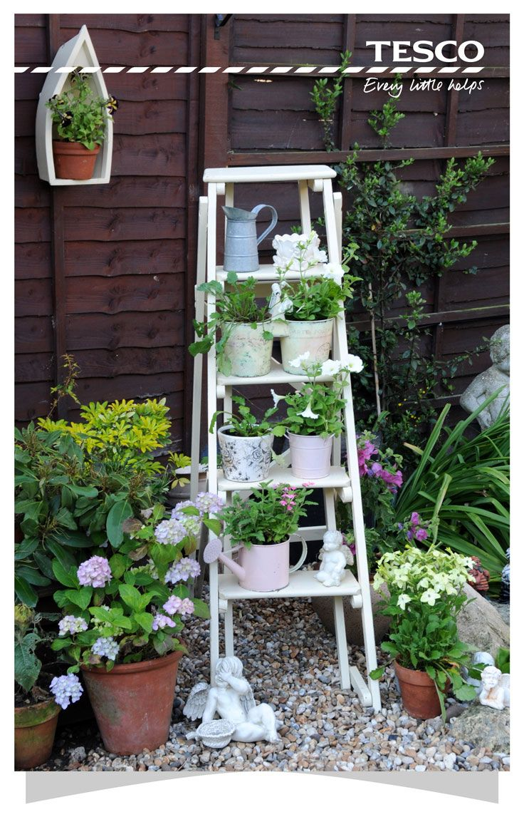 Best 25+ Garden ladder ideas on Pinterest | Herb planters ...