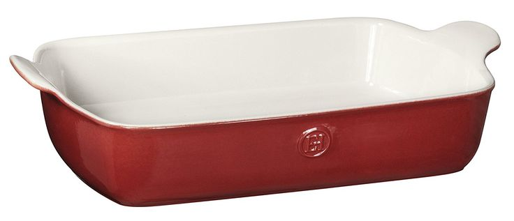 Emile Henry Made In France HR Modern Classics Large Rectangular Baker, 13 x 9', Red ** You can find more details by visiting the image link.