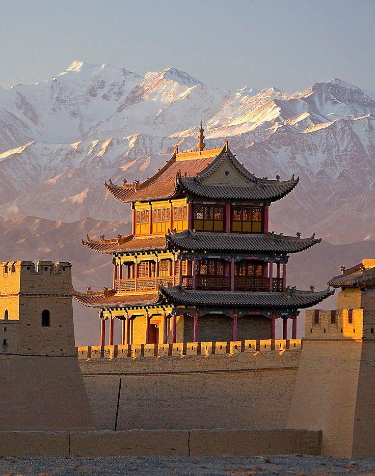 Jiayuguan Fort, silk road, Gansu Province, China