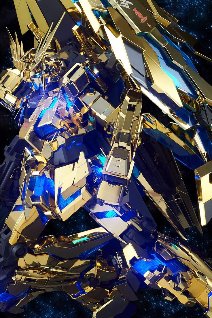P-Bandai: PG 1/60 Unicorn Gundam 03 Phenex [Gold Plated]  [MOBILE SUIT UNICORN GUNDAM MSV]  Release Date: February 2017 [Japan] March 2017 ...