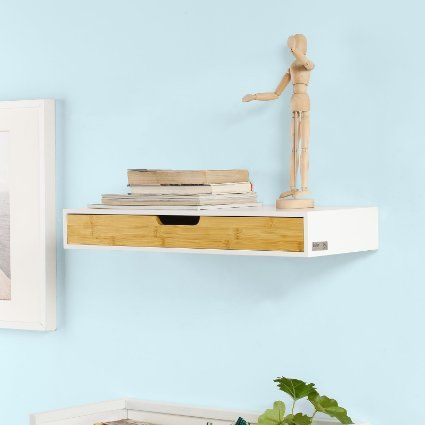 1000 Ideas About Floating Shelf With Drawer On Pinterest