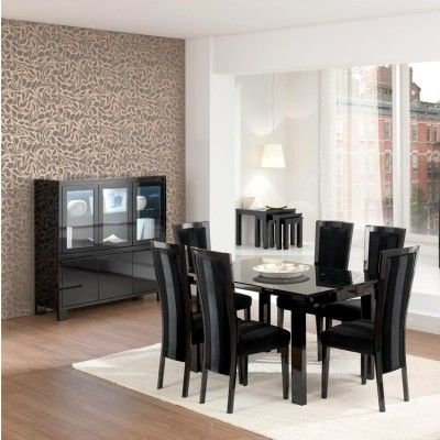 Perfect for a modern home - with Casabella Prima High Glass Dining Table #4livinguk