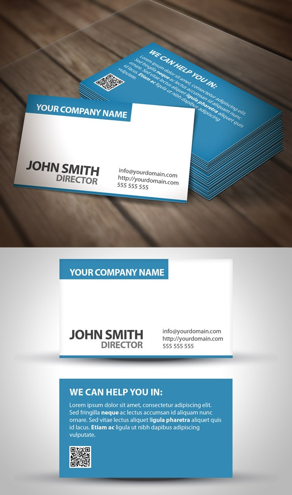 22 best Business Cards images on Pinterest Business card design - id card template