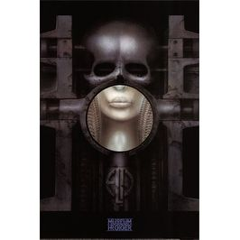 ''elp: Brain Salad Surgery'' by H.R. Giger Music Art Print