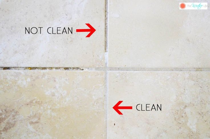 It only takes a few items from your pantry to make your grout sparkle!