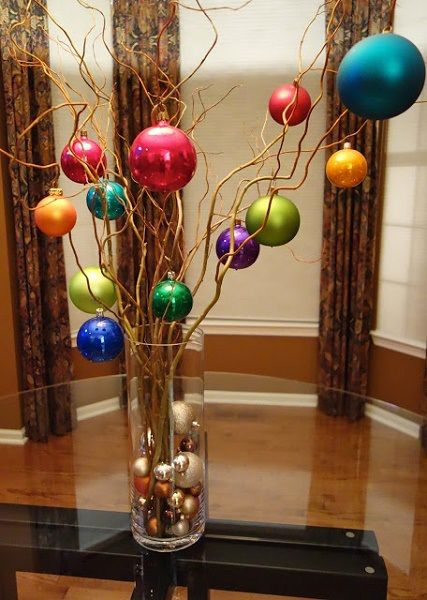 Simple Christmas Centerpiece Ideas
