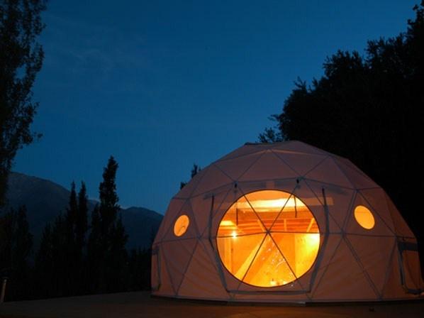 Lit sous un dôme, Elqui Domos, Chili ©Elqui Domos