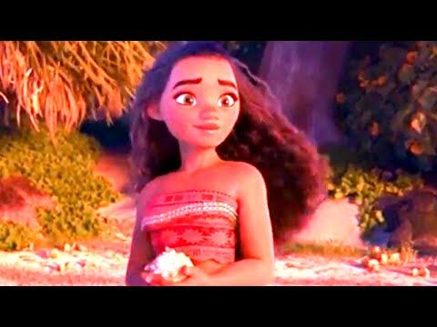 MOANA Promo Clip - First Footage (2016) Dwayne Johnson Disney Animated Movie HD - YouTube