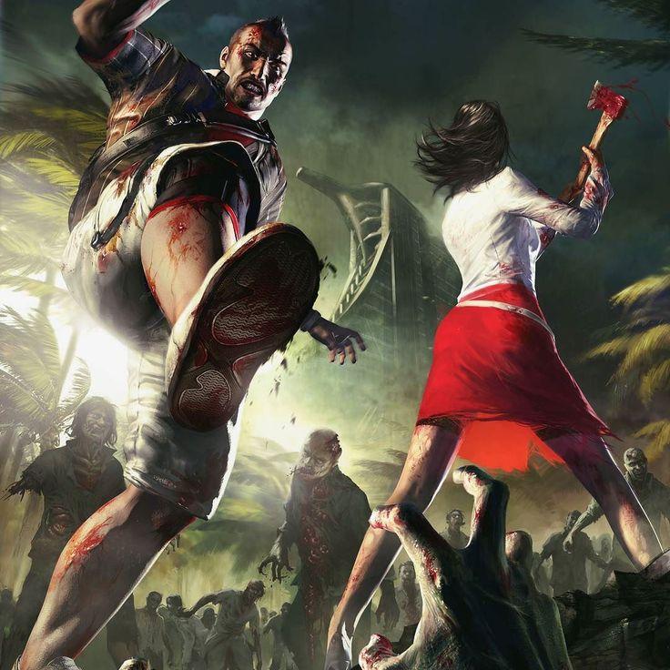 Very  very old art form Dead Island days.  #deadisland #zombie #action #shooter #games #illustration #cgart #conceptdesign #idea #creative #techland