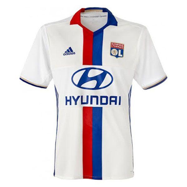 nueva camisetas de futbol del Lyon Olympique baratas 2016 2017