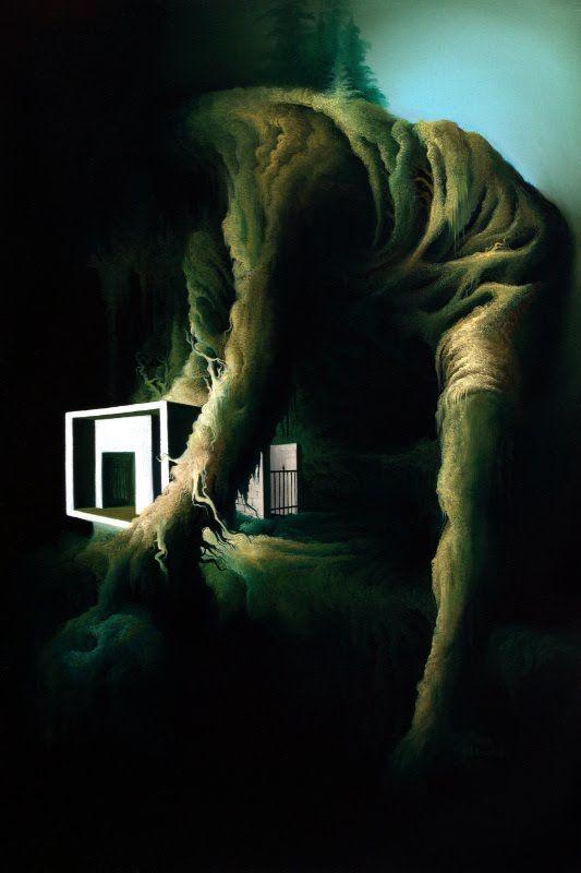 Resident, 60x40cm oil on canvas