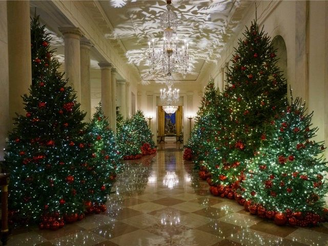 White House Unveils American Treasures Christmas Theme White House Christmas Decorations Beautiful Christmas Decorations White House Christmas