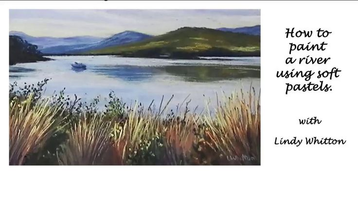 Paint a river scene in pastels - Pastel painting course