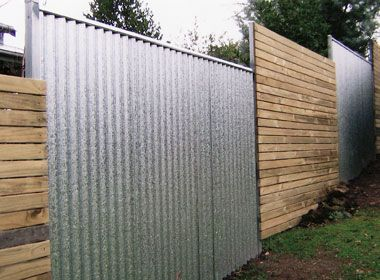 best 25 corrugated metal fence ideas on pinterest metal fence metal fences and wood retaining wall