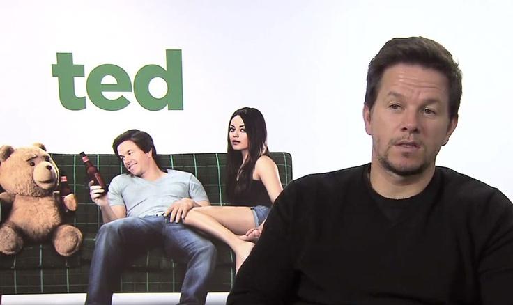 """Mark Wahlberg en interview sur PUREchannel pour le film """"Ted"""" !"""