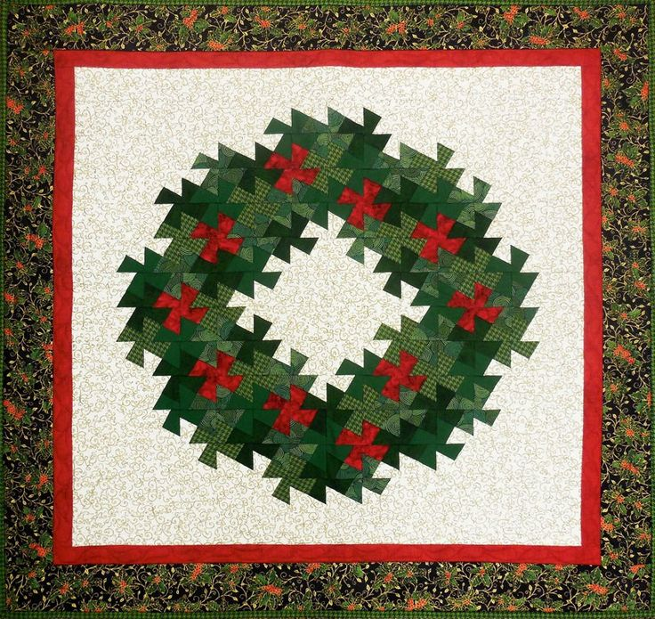 Free Twisted Pinwheel Quilt Pattern : 17 Best images about Christmas quilts on Pinterest Free pattern, Quilt and Christmas tree skirts