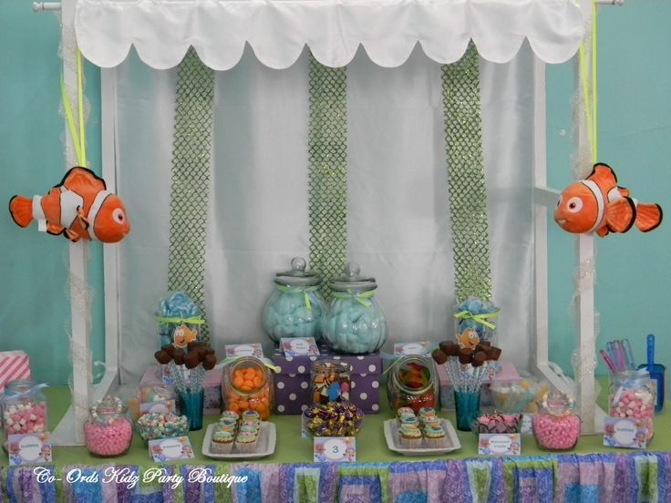 Bubble Guppies candy table by Co-Ords Kidz Party Boutique